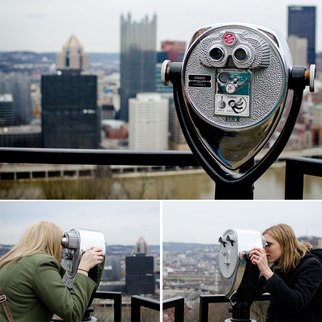 Pittsburgh with Tracey and Cassie