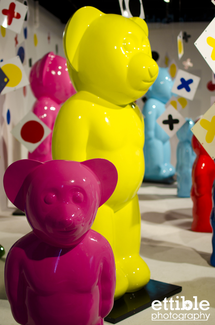 Bear Forest by dEmo at LAB Gallery