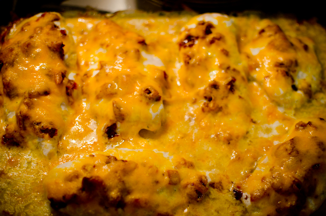 Chicken Cheddar Bacon Ranch Bake